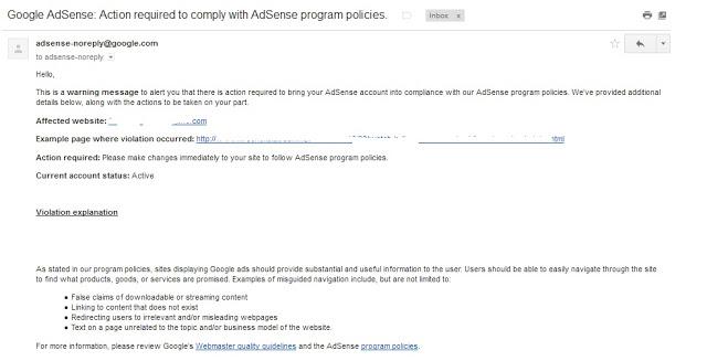 google_adsense_violation_email_1